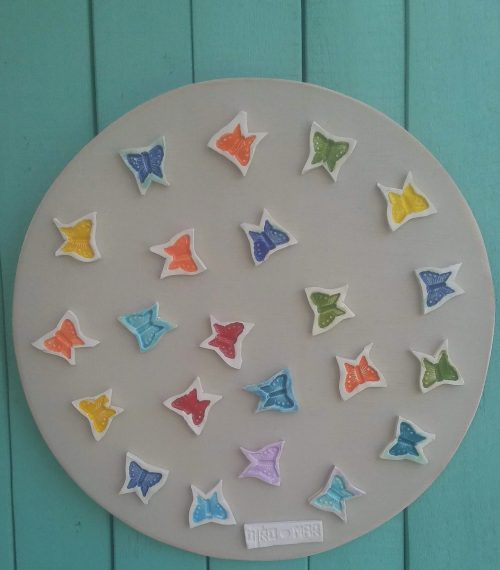 Ceramic Butterflies - Otro Mar Ceramics
