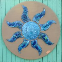 Ceramic Blu Sun - Otro Mar Ceramics