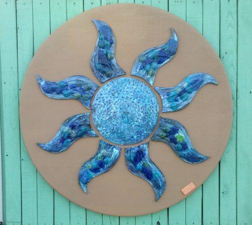 Ceramic Blu Sun - Otro Mar Ceramics