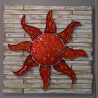 Ceramic Red Sun - Otro Mar Ceramics