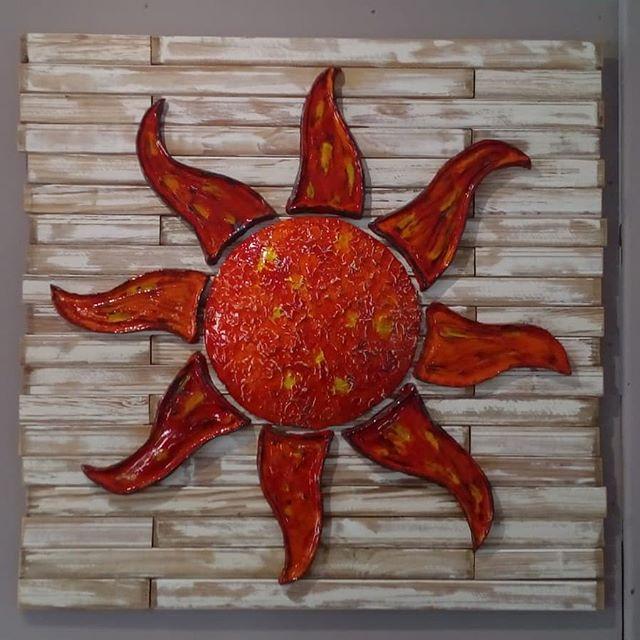 Ceramic Red Sun - Otro Mar Ceramics