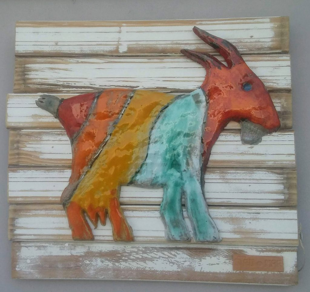 Ceramic Goat - Otro Mar Ceramics