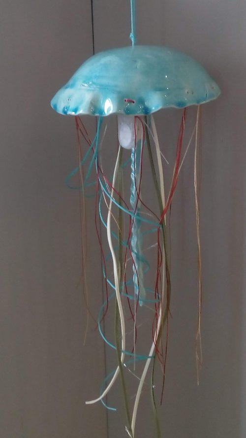 Ceramic Jellyfish Lamp - Otro Mar Ceramics