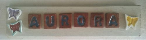 Ceramic Personal Name - Otro Mar Ceramic