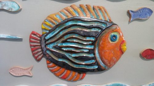 Ceramic Tropical Fish - Otro Mar Ceramics
