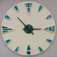 Ceramic wall clock - Otro Mar