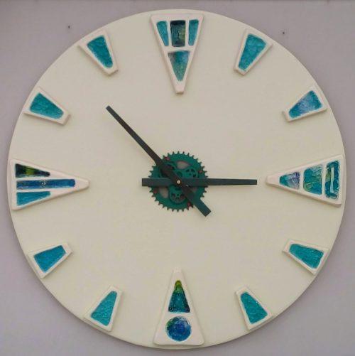 Ceramic wall clock - Otro Mar